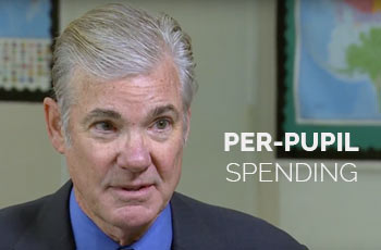 Tom Torlakson: Per-pupil spending