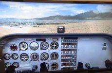 Flight Simulator panel