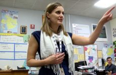 teacher of the year rosie reid teaching at northgate high school
