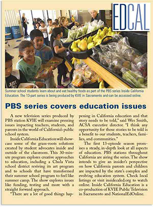 PBS series covers education issues