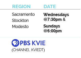 sacramento, stockton, modesto, channel kviedt, wednesdays at 7:30pm and sundays at 6pm